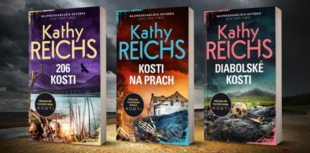 Thrillers by Kathy Reichs - Books that inspired the Bones crime series
