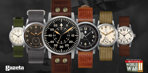 WTI Military Watches 2018 - World War II model replicas